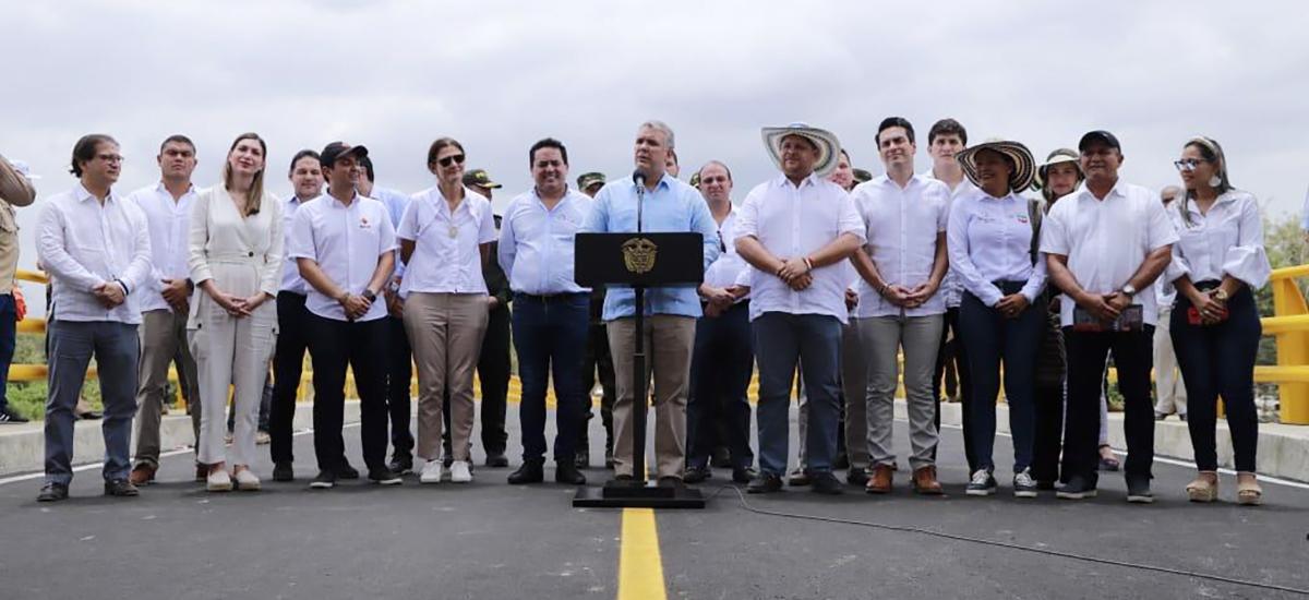 Córdoba recibe importantes obras del Gobierno Nacional para la conectividad del departamento