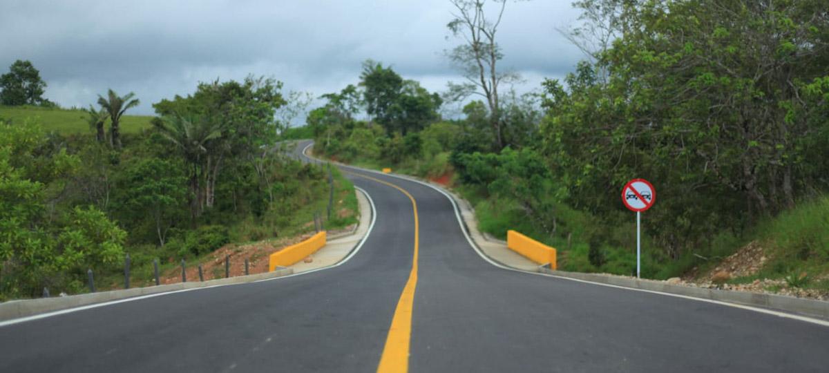 Fotografía de la vía.